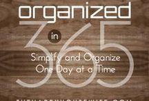 Organize that ish...