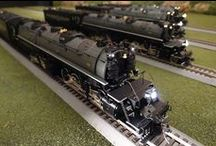 """MTH HO / """"HO Trains That Do More,"""" including sound-equipped locomotives compatible with all HO operating systems: analog DC, NMRA- standard DCC, and M.T.H.'s Digital Command System (DCS). M.T.H.'s HO items are identified with item numbers that begin with """"80"""" or """"81""""."""