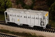 """MTH S Gauge / M.T.H. S Gauge trains are M.T.H.'s newest product line first appearing in 2013. These smaller models run on S gauge 2-rail track from any manufacturer.  M.T.H. S Gauge items, including our S Gauge S-Trax track components are identified with item numbers that begin with """"35""""."""
