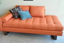 Tangerine To Die For / Tangerine themed furniture at Casa Bella Galleria