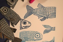 Carved stamps-handmade stamps