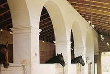 Stunning Stables / Stables around the world... fit for horses of kings.