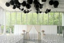 """Classic Black,white,silver.......and a touch of """"Gold""""  / Classic colours for all occasions. www.everyspecialmoment.com.au"""