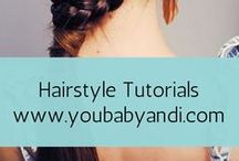 Hairstyles for Women / Easy hairstyles for women and little girls to try.