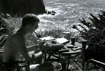 Livin' life / Hanging out, climbing mountains, listening to records, sleeping in, reading, writing, living life.