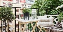 Uteplats | Outdoor space / Inspirationsbilder | Balkong & Uteplats | Outdoor terrace & Balcony