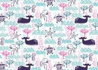 Mes Tissus/ Fabrics Spoonflowered/pattern