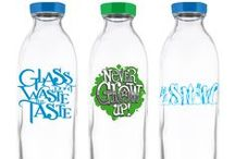 Limited Edition Glass Bottles / Exclusive designs available throughout the year / by Faucet Face