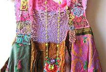 Tuunatut vaatteet / Upeita ideoita vaatteiden kierrätykseen ja tuunaukseen!