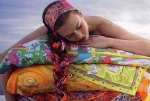Bindeanleitungen für Tücher und Schals / ... hier kannst Du auf Tuchfühlung gehen