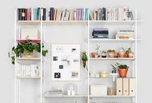 Bookshelf Inspiration / A board for bookshelf inspiration.