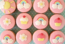 Cute Cupcakes / Crazy for cupcakes, not because how they taste, but how they look! / by Serena Lowry