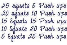 Wiggle wiggle wiggle...I workout! / by Amanda Jervis