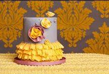 I love ruffle cakes