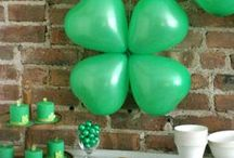 Holiday | St. Patrick's Day / St. Patricks Day  | Decorations, Favors, Centerpieces, Invitations, Food, Drink and Inspiration
