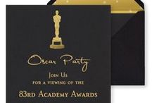 Party | Oscars / Academy Awards, Oscars, Award Shows | Decorations, Favors, Centerpieces, Invitations, Food, Drink and Inspiration