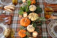 Holiday | Thanksgiving / Thanksgiving | Decorations, Favors, Centerpieces, Invitations, Food, Drink and Inspiration