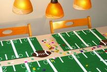 Party | Super Bowl / Super Bowl, Fantasy Football, NFL | Decorations, Favors, Centerpieces, Invitations, Food, Drink and Inspiration