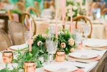 Wedding | Tables / Wedding Tables & Centerpieces Inspiration