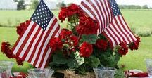 Holiday | 4th of July / 4th of July, Independence Day  | Decorations, Favors, Centerpieces, Invitations, Food, Drink and Inspiration