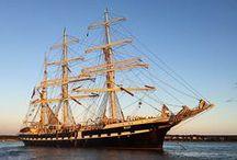 Trois-mâts Belem / Navigation à bord du voilier Belem, plus vieux trois-mâts français - inspiration voile