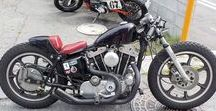 1978 Harley Davidson XLH1000 SPORTSTER CUSTOM / 1978 Harley Davidson XLH1000 ショベルスポーツスター(通称アイアンスポーツ)をベースにコンパクトなチョッパーを製作 byモミアゲスピード モーターサイクルズ