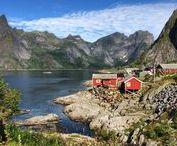 Visiter la Norvège / Idées de week-end et de vacances en Norvège  - récits de voyage, escapades, photographies, carnets pratiques, articles de blog et inspiration voyageuse