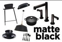 Design Trend: Matte Black