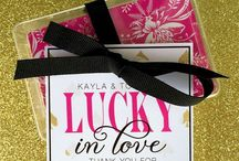 Wedding | Favors / Thank your wedding guests for celebrating your big day with you!
