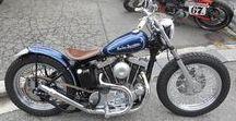 1977 Harley Davidson XLCH1000 Shovel Head Sportster / 1977年ハーレーダビッドソンXLCH1000 ショベルスポーツ・アイアンスポーツをハードテイル・ショートフロントサスペンションで更にリジッドコンパクトなチョッパーに。