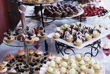 Wedding | Dessert Bar / Wedding Dessert Bar, Candy Bar, Donut Bar Ideas & Inspiration