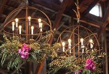 Weddings | Venue Details / Wedding Venue Inspiration - tents, chandeliers, exteriors