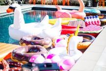 Party | Pool Party / Cannonball!  Pool party inspiration!