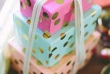 Party | Gift Wrap / Gift Wrap Inspiration and Ideas