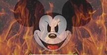 Disney Deception / Walt Disney was a 33 degree Mason and has been using children's cartoons to teach ungodly messages.  Lately Disney children stars have gone from teen idols to sex objects leading generations into the occult.