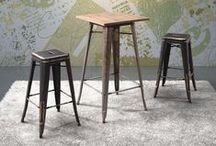 BAR TABLE/STOOL / by Chia Hsu