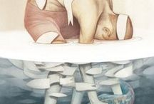 Illustrations / Art illustrations, weird, surreal, abstract, touching, eerie...