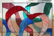 Ribbon Art / Stunning ribbon and fabric art installations!