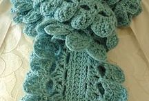 hats/scarves/cowls / crochet / by Rebecca Lange