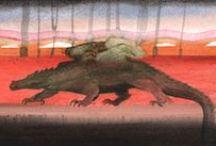 Graphic novel Dragon /  new comics album