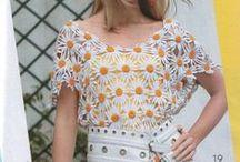 Crochet tops-women / Crochet / by Rebecca Lange