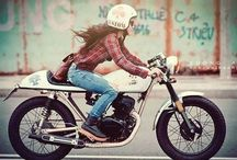 Girls riding Motorcycles or Girls & Motorcycles