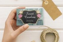 Business Card Designs / Unique, quality business card designs for your small business. Ideal for handmade craft marketing. Double-sided cards available. Make it yours and show off your business in style!