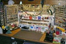Organize your Work Area / ideas and hints on how to set up your Garage/Mancave
