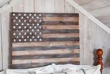 Military Decor Ideas / Great inspirations for decorating a military home or making military-featured ornaments and gifts.