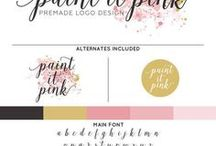 Logo & Watermark Packages / Quick, easy, and affordable logo branding for your Etsy shop, small business, or professional endeavor! All logo packages include high quality printable graphics customized with your own shop name. Great for watermarking your product photos!