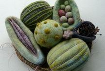 Felting / Felted beauties