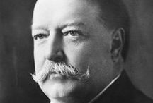 William Howard Taft / William H Taft (September 15, 1857 – March 8, 1930) served as the 27th US President (1909–1913) and as the tenth Chief Justice of the United States (1921–1930), the only person to have held both offices. Taft was elected president in 1908, the chosen successor of Theodore Roosevelt.