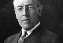 Woodrow Wilson / Woodrow Wilson (December 28, 1856 – February 3, 1924) an American politician and academic who served as the 28th US President from 1913 to 1921. Born in Staunton, Virginia, he spent his early years in Augusta, Georgia and Columbia, South Carolina. Wilson earned a PhD in political science at Johns Hopkins University, and served as a professor and scholar at various institutions before being selected as President of Princeton University, a position he held from 1902 to 1910.