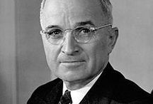 Harry Truman / Harry S Truman (May 8, 1884 – December 26, 1972) an American politician who served as the 33rd US President (1945–53), assuming the office upon the death of Franklin D Roosevelt during the waning months of World War II. He is known for launching the Marshall Plan to rebuild the economy of Western Europe, for leading the Cold War against Soviet and Chinese communism.